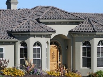 Exterior Stucco Painting Sample Image