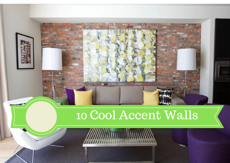 10 cool accent walls