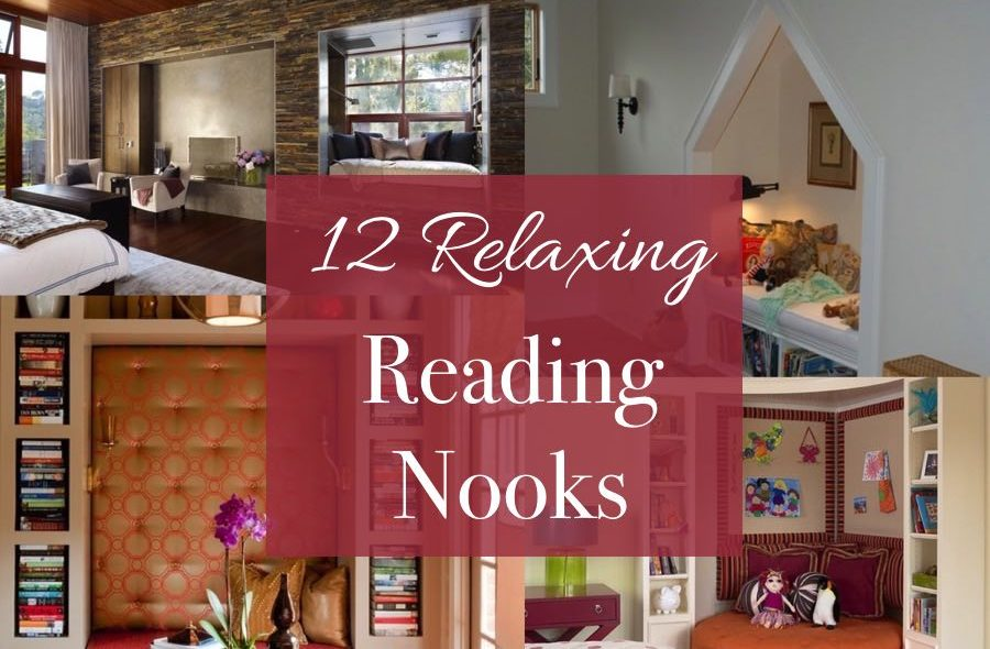 12 relaxing reading nooks