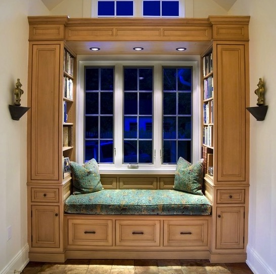 Classic Reading Nook