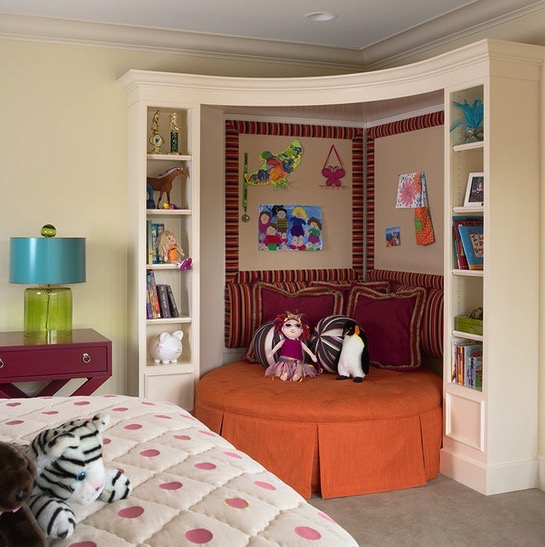 Child's reading nook