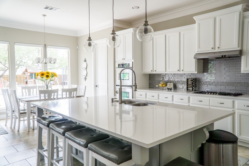 The Real Cost To Paint Kitchen Walls Cabinets D I Y Or Professionals