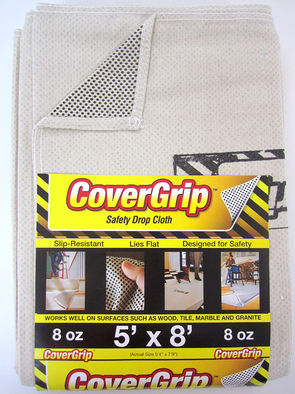 CoverGrip Canvas Safety Drop Cloth
